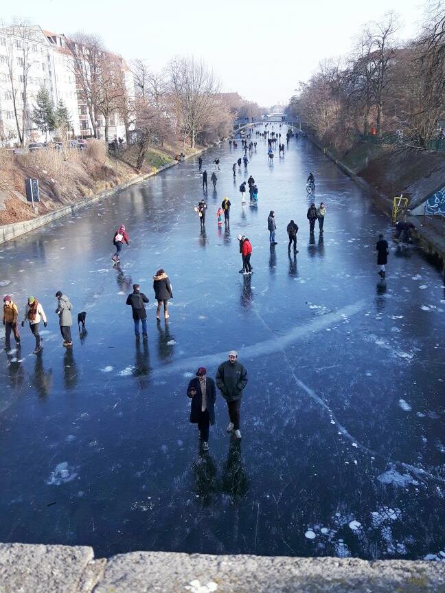 Berlin-Neukölln im Winter